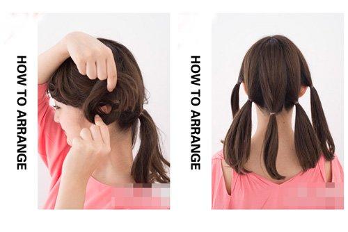 选拨女生最简单发髻的盘法图解 教你盘出史上时髦洋气发型图