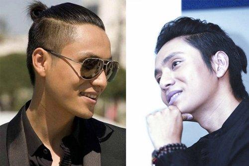 文艺男扎小辫两边剃掉造型设计 精选男生扎辫子无刘海发型系