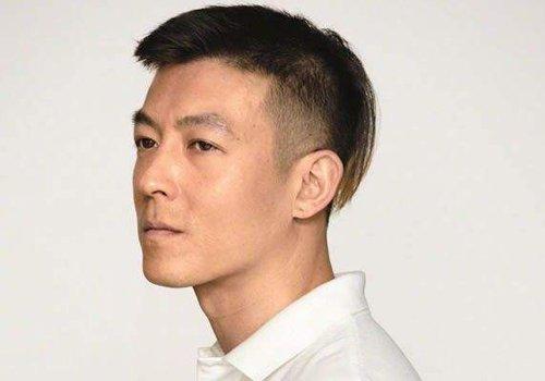 中年时期陈冠希发型总是半边推光 成年人如何使用剃双鬓角发型