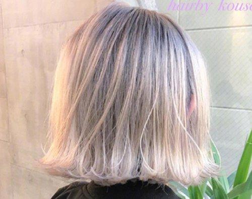 喜欢的浅色头发盖不了白头发怎么办 6度以上染发遮挡白头发有妙方