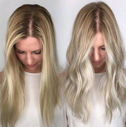 被烫卷发前后对比图伤害后才懂 此生最不能错过的发型是齐肩烫卷发