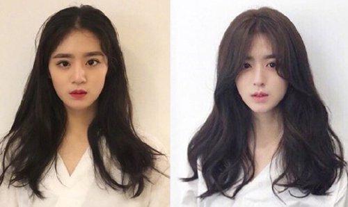 换个发型仿佛get了瘦脸术 女生都被征服的修颜发型梳法