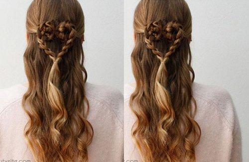 三种不同的半扎发公主头解救长发于平淡 小细节调整公主头发型更出众