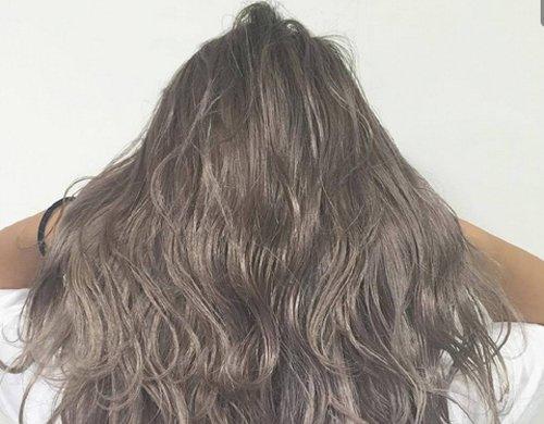 雾灰系奶茶色hair style真心美 唯美梦幻与冬天的灰黑白超级搭