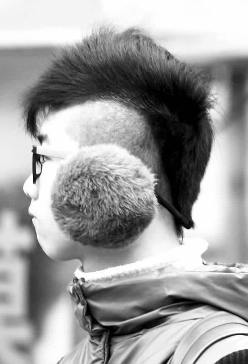 2019年男生最新莫西干头超显帅 冷酷绅士男适合的莫西干短头发