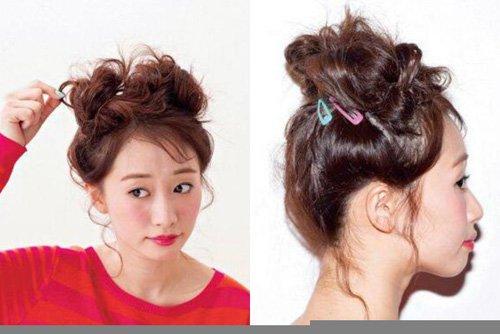 小姐姐韩式两种扎法同一种时尚 总适合你的潮流唯美扎发玩新颖