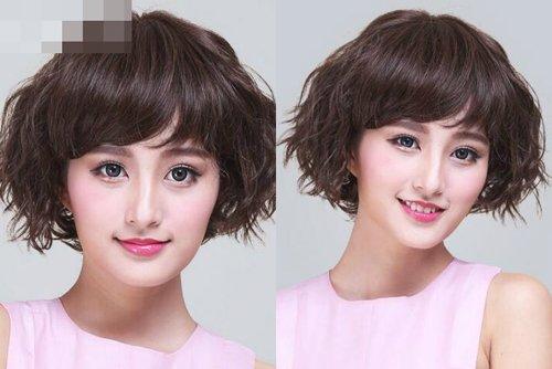 女生修剪时尚波波头2018世界杯体育投注网站发型 属于你独一无二的短头发图片集