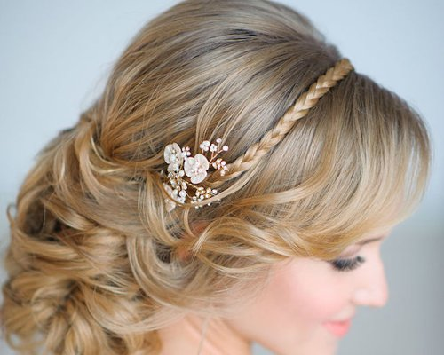 新娘发型来了一大波堆堆卷盘发设计 西方女生都被多层次卷盘发迷住了