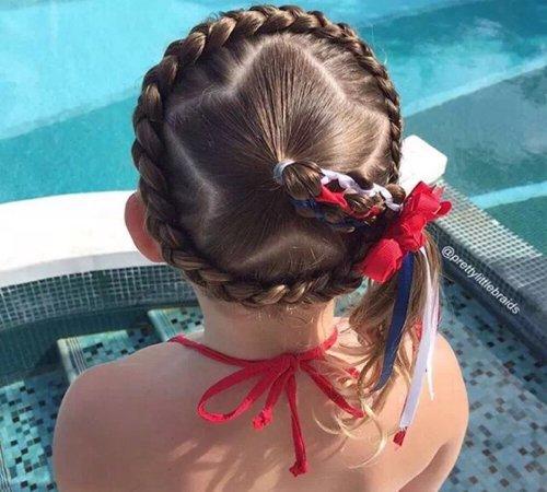 8款超适合小女孩的扎发辫子图解 扎女童辫子有图解让每个妈妈都成巧手妈妈