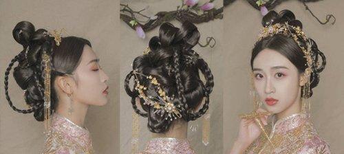 <b>选春节假结婚的妹纸中式新娘发型 秀禾服发型比知否里的喜服发型2018世界杯体育投注平台一百倍</b>
