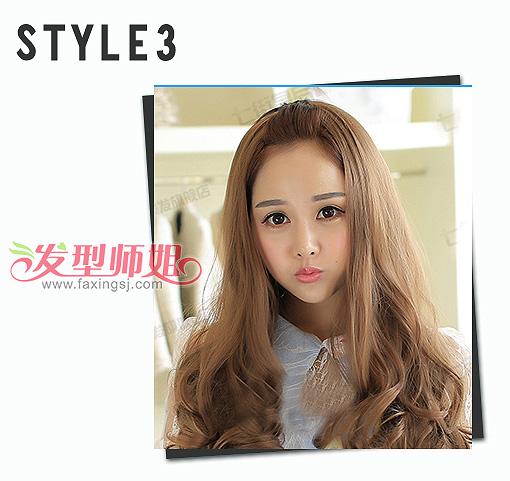 长卷发风格志 清纯甜美芭比烫让你年轻自信 甜美的女生发型 芭比烫长图片