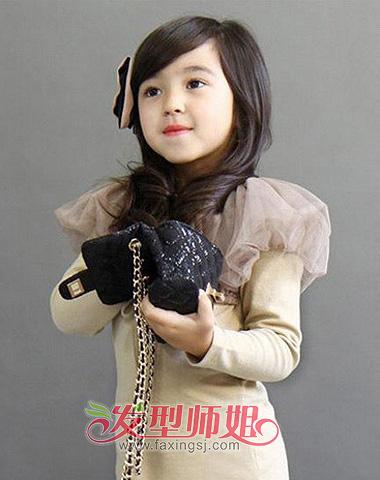 简单打造适合儿童小女孩的发型(2)