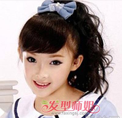 发型设计 儿童发型 > 今年流行的小女孩发型