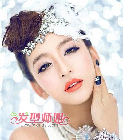 小苹果俏丽多变 圆脸女生发型精选(2)