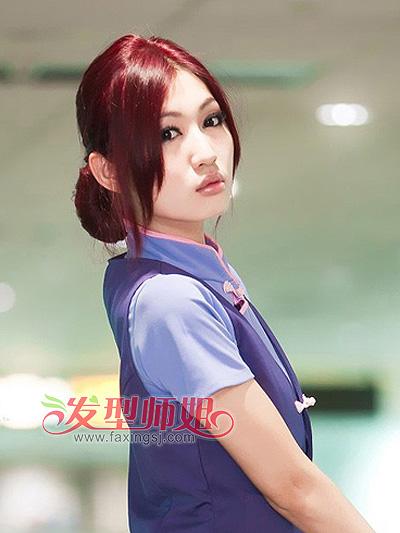 打造白领气质ol 女生职场优雅发型合集(2)图片