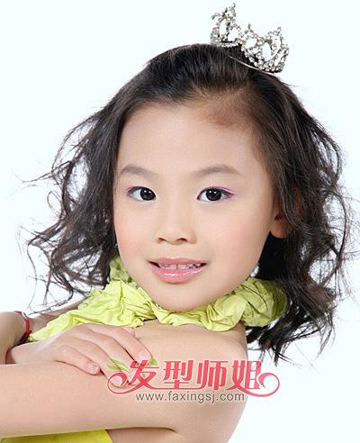 女儿童可爱发型荟萃 长发短发悉数呈现(3)