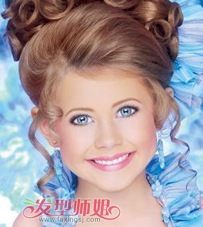 女儿童可爱发型荟萃 长发短发悉数呈现(2)图片