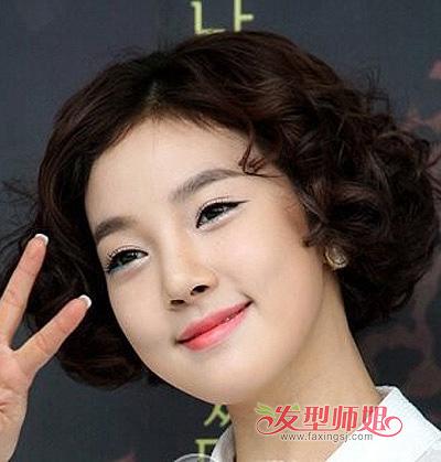流行发型 沙宣发型 >> 个性沙宣短烫发 精彩演绎沙宣的别样魅力(3)图片