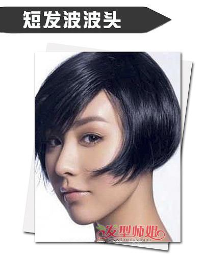 bob发型 >> 女生短发波波头发型 干净利落彰显御姐范(4)  2014-10-31图片