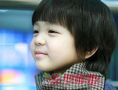儿童短发发型