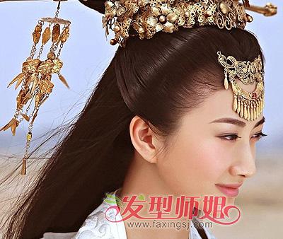 古代美女发型回归 别是一番盛景在眼前 古代美女发型 复古发型 发型师