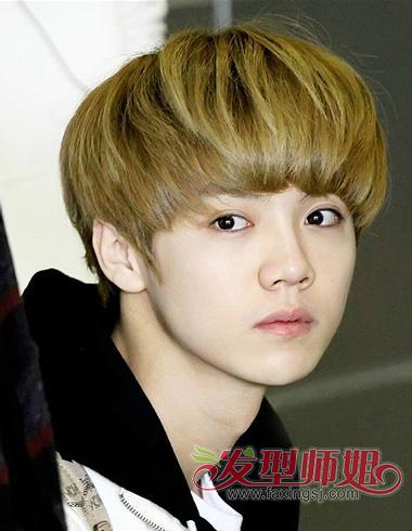 男生蘑菇头发型 引爆潮流可爱反差萌(2)图片