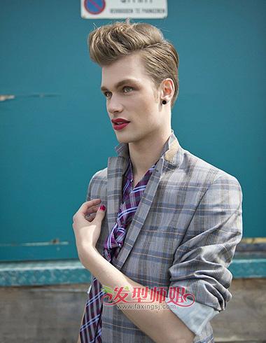 男生飞机头发型 多变立体感展现不同风格