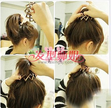 盘发器帮你盘头发 盘发器使用技巧图解