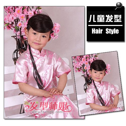 发型设计 儿童发型 >> 精致花巧儿童扎发发型 小公主新鲜来袭  现在的
