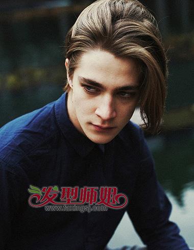 欧美男生长发发型 展现气质美男王子范图片