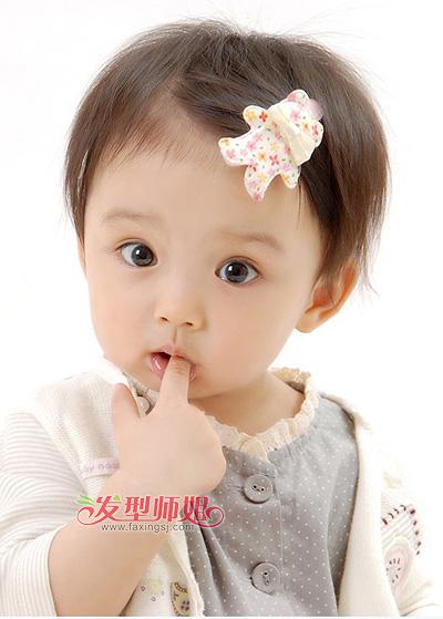 2014流行长直发发型_0至3岁宝宝可爱发型 彰显不一样的Baby气质(2)_小女孩发型_小女孩 ...