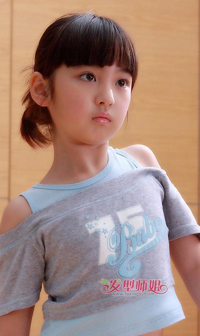 小女孩稚嫩可爱发型 潮流天使到你家