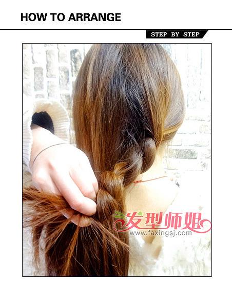 冬季充满暖意的发型设计 DIY优雅气质低盘发发型