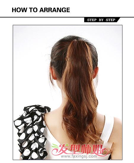 女生冬季纯洁净美发型设计 高雅花苞头盘发发型步骤