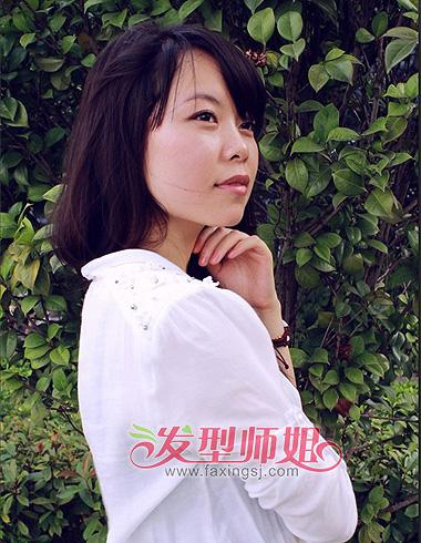 脸女生减龄发型图片及名称 发型师姐图片