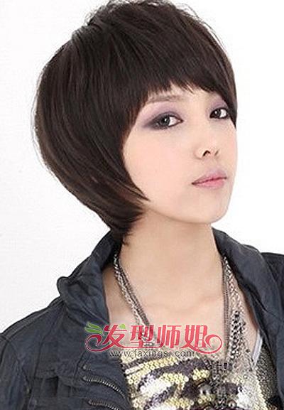 中年女人吧_中年女性短发大脸发型 中年女人好看的发型图片(3)