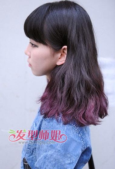 2014年韩国最流行的染发色彩 韩系超可爱的女生发型 发型师姐图片