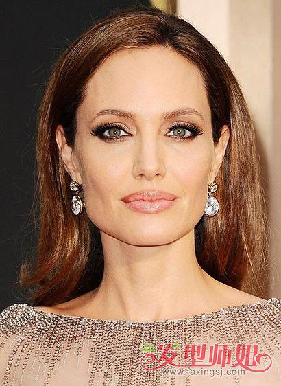 女明星的长方脸发型 方形脸的明星发型图片(3)图片