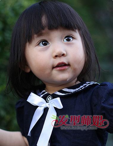 婴儿肥小女孩发型怎么梳