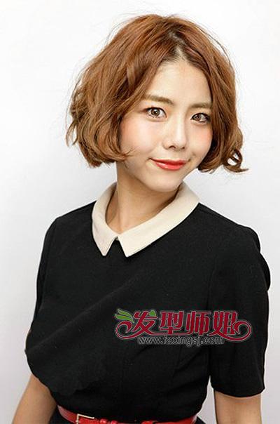 荷花头是怎么样的发型 短发荷花头发型(3)图片