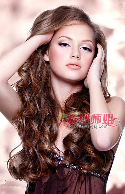 女士短发小卷图片_女生可爱的小卷长卷发 长发小卷发型图片(4)_发型师姐