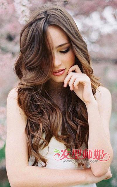 长发蛋卷头中分发型 蛋卷头中长发发型图片 发型师姐