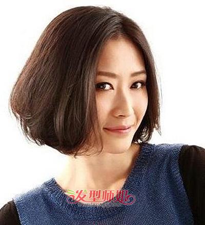 长脸且额头太突出女生适合的发型 发型师姐