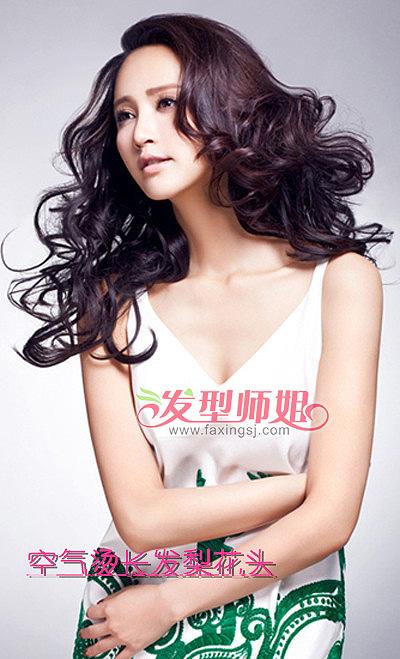 长发梨花头发型 女士发型梨花头