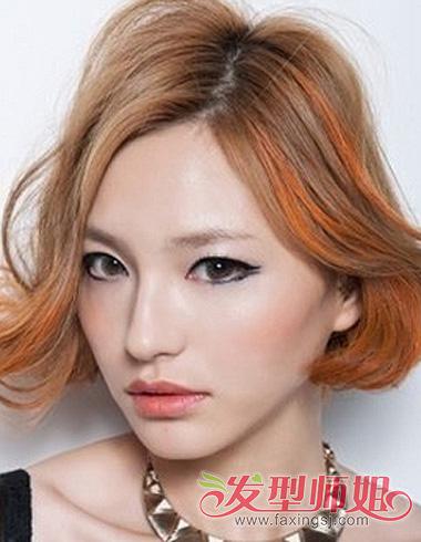 2015年挑染发型 女生长发挑染发色精选 发型师姐图片