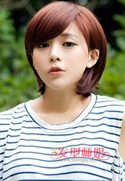 瓜子脸适合什么直发型 适合瓜子脸女孩中短发发型大全 发型师姐