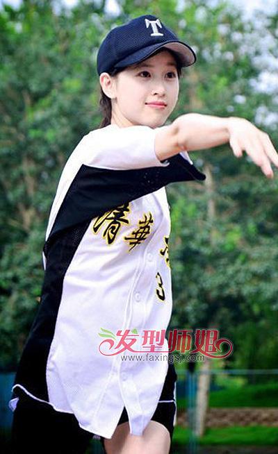 学生无刘海马尾辫发型 初中学生马尾辫发型扎法