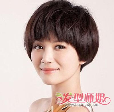 短发波波头发型怎么剪 波波头大卷发型(2)图片