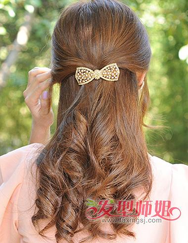 常见螺旋烫发型图片 中卷螺旋烫发型图片(3)
