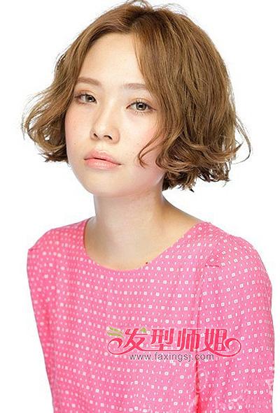韩国短发蛋卷头 韩式蛋卷头短发 发型师姐